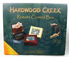 Hardwood Creek Remote Control Box Wooden Photo Walnut Cherry