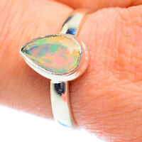 Ethiopian Opal 925 Sterling Silver Ring Size 9.25 Ana Co Jewelry R54401