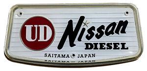 NEW Genuine Nissan UD Saitama Japan Emblem Badge Mark Bus  RARE!