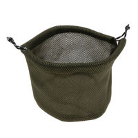 Thicken 3D Mesh Cloth Cookware Storage Bag Camping Drawstring Pouch, 19x18cm