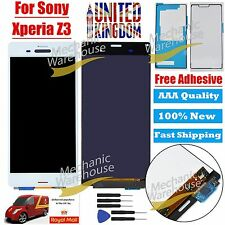 Sony Xperia Z3 D6603 D6643 D6653 LCD Touch Digitizer Display White Replacement