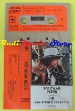 MC BOB DYLAN Desire 1975 italy CBS 40 CBS 86003 no cd lp dvd vhs