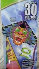 """X-Kites BreezeDelta 30"""" Dragon Kite - New!"""