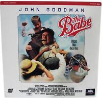 THE BABE LASERDISC Sealed NEW 90s John Goodman As Babe Ruth Baseball LD Movie