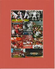 CLEMSON TIGERS 2 TIME  NCAA FOOTBALL CHAMPS HISTORICAL  MATTED PHOTO CLASSIC #.2