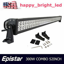 "52""inch 300W Led Work Light Bar Flood Spot Combo Offroad Driving For Ford 50""54"""