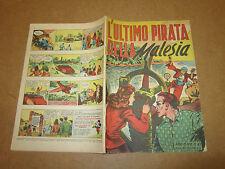 WALT DISNEY ALBO D'ORO 1° SERIE N°87 L'ULTIMO PIRATA DELLA MALESIA 1948