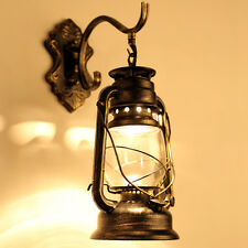 Vintage Industrial Wall Sconce Lamp Retro Glass Light Fixture Edison Waterproof