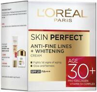 L'Oreal Paris Skin Perfect 30+ Anti-Fine Lines Cream, 50g Free ship