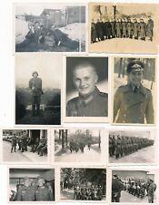 Nr.25505 11 x Foto 2.Weltkrieg  Deutsche Wehrmacht u.a. RAD Gasmaske   Orden