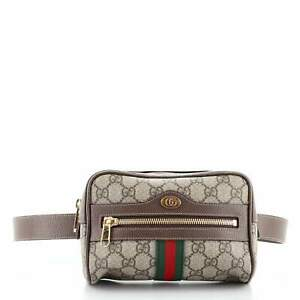 Gucci Ophidia Belt Bag GG Coated Canvas Small 95