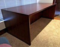 Modern Mahogany Desk