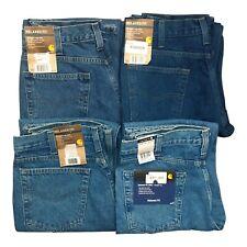 NWT Carhartt B460 Relaxed Fit Straight Leg Men's Jeans Heavyweight Denim