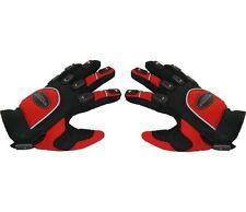 Paire de gants moto enduro / motocross taille M  , rouge, noir