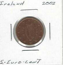 Ireland Republic 5 Euro Cent, 2002