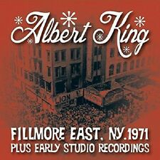 Albert King Fillmore East, NY 1971+ Early Studio Recordings CD NEW SEALED Blues