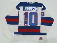 MARK JOHNSON SIGNED K1 1980 TEAM USA JERSEY MIRACLE OLYMPICS LICENSED PSA COA 1