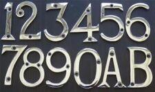 Plaques, panneaux et enseignes en métal avec chiffres, lettres pour la décoration intérieure de la maison