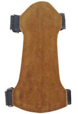 Suede Leather Arm Guard  Size:14cm Long x 7cm Archery Product AG-214B.YOUTH