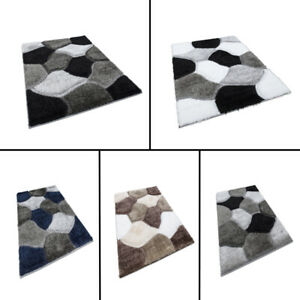 NEW LUXURIOUS THICK PILE RUG MODERN SOFT PONA MODERN SHAGGY RUGS MATS FOR HOME
