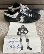Minnesota Vikings Bobby Bryant Signed Picture & Game Used Spot-Bilt Cleats 20