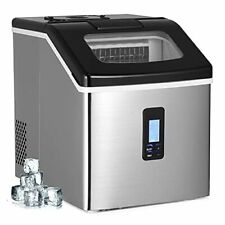 Soukoo Ice Maker Countertop with 40lbs/Day (18F)…
