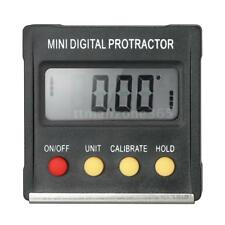 LCD Digital Protractor Inclinometer Level Gauge Angle Finder Magnetic Base N7Z8