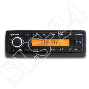 Continental TR7412UB-OR MP3-Autoradio mit Bluetooth USB AUX-IN