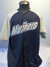 Seattle Mariners Jersey - Alternate Mariners Script Logo - By Majestic - Men's L