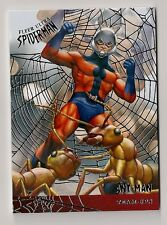 2017 FLEER ULTRA SPIDER-MAN TEAM-UPS #TU10 ANT-MAN SILVER WEB FOIL PARALLEL