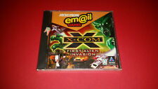 X-COM First Alien Invasion Email Games PC CD - Brand new