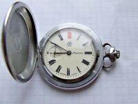 Molnija SOVIET Russian Pocket Watch