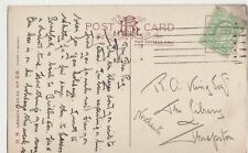 R.G. King Esq, The Library, Thrapston Postcard, B410