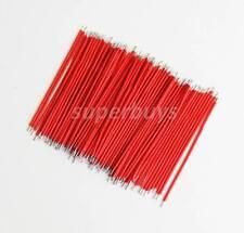 100pc x 60mm Breadboard Bread Board Jumper Jump Cable Wire Tin Plated Copper 1mm