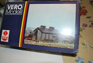 Modellbau Häuser h0 VERO-Modell DDR LOKSCHUPPEN 220x130x80