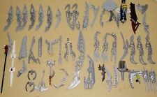LEGO Bionicle Weapons Parts Pieces Hero Factory lot of 51