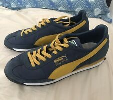 Puma Easy Rider UK Size 10 Blue/Yellow