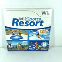 AUTHENTIC Wii Sports Resort (Wii, 2009) Brand New Factory SEALED Sleeve C7