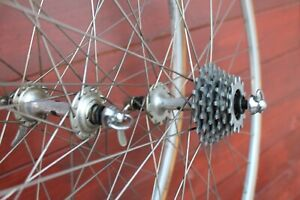 NO RESERVE Wheelse Ruote NISI Mixer on Campagnolo RECORD hubs 32h Clement SC 6sp
