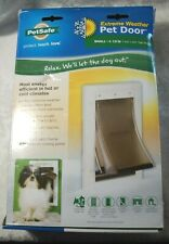 New PetSafe Extreme Weather Energy Efficient 3 Flap Small Pet Door