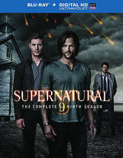 Supernatural: The Complete Ninth Season (Blu-ray Disc, 2014, 4-Disc Set, Include