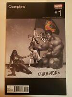 Champions #1 Marvel 2016 Series Miles Morales Hip Hop Variant 9.6 Near Mint+