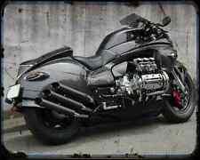 Honda Valkyrie Whitehouse 2 A4 Photo Print Motorbike Vintage Aged