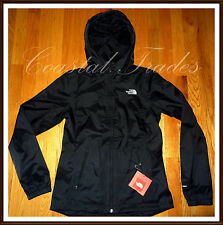NWT The North Face Women's Boreal Waterproof DryVent Rain Jacket L LARGE BLACK