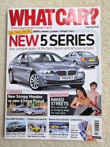 WHAT CAR Magazine February 2010