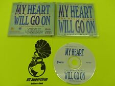 Leanora DeCapo my heart will go on the dance mixes single - 5 tracks CD Disc