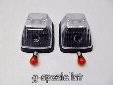 Mercedes G Modell Klasse Blinker weiß weiße Blinker Set 2 Stück 12 Volt Neu