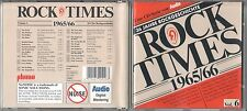Rock Times  Vol. 6  CD   1965/66  MOODY BLUES , FOUR TOPS , THE BYRDS
