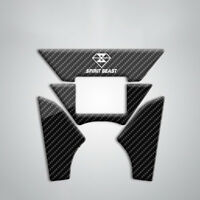 For Honda CBF190 CB190R Motorcycle Tank Stickers Carbon Fiber Top Clamp Stickers