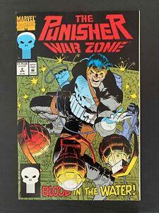 PUNISHER WAR ZONE  #2  MARVEL COMICS 1992 VF+